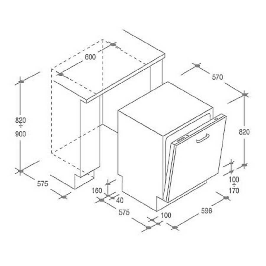 Stunning dimensioni mobili cucina componibile photos - Misure cucine standard ...
